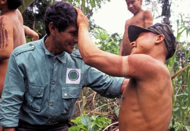 Anthropologist in the Amazon