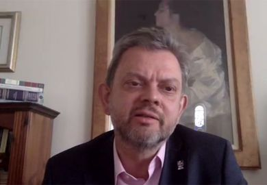 """Anton Muscatelli speaking during a Zoom conversation """"No going back? UK higher education post-pandemic"""" 7th May 2020"""