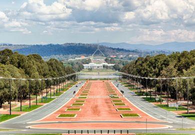 ANZAC Parade, Canberra, Australia