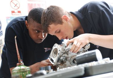 Apprentice mechanics