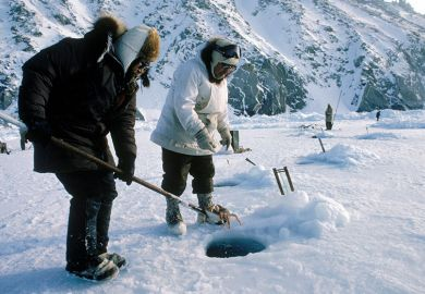 arctic fishermen