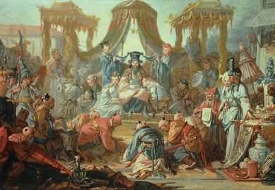 The Audience of the Chinese Emperor, by Francois Boucher