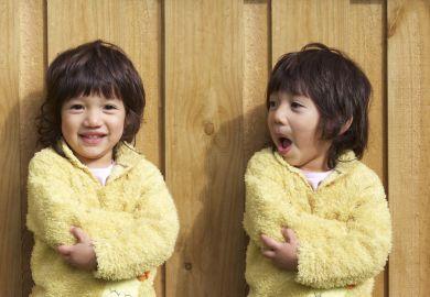 Asian twins