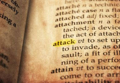 attack dictionary definition