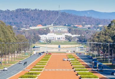 Australian Old Parliament House and New Parliament House, Canberra