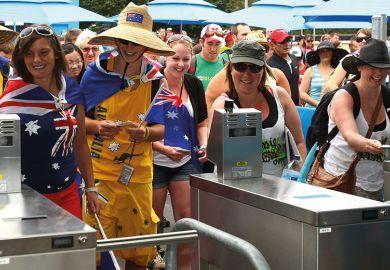 Australian sports fans