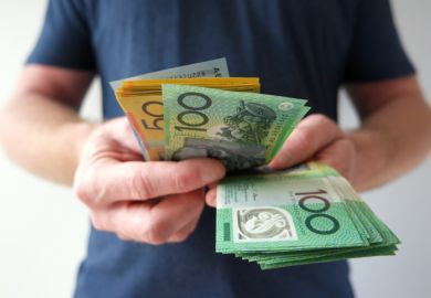Australian dollars symbolising alleged underpayment of academics in casual employment