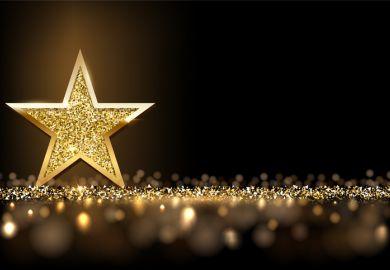 Award star illustrating THE Awards Asia 2021