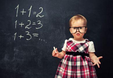Baby mathematician