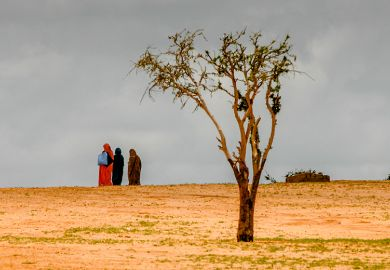 The barren land is taken over by the Sahara desert in Chad, where farmers and herders are pitted against each other over diminishing pasture and resources. As an illustration of how UK cuts to research aid will harm it's reputation
