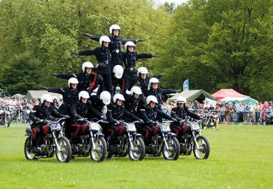 motorcycle pyramid