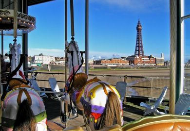Blackpool carousel