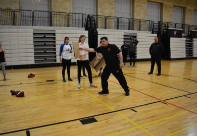 Learning self-defence at Harvard University