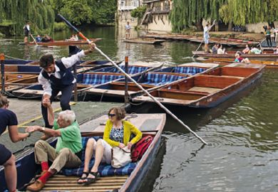 Boats in Cambridge