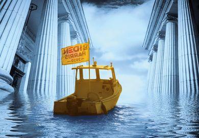 Harris Biden boat