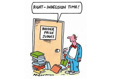 Booker prize cartoon