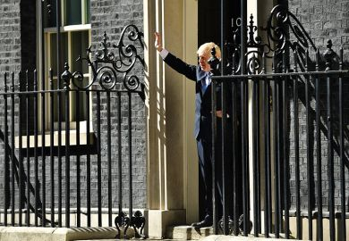 Boris Johnson at 10 Downing Street
