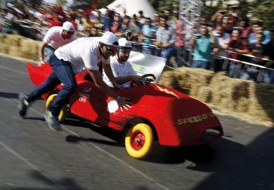 Boxcar derby