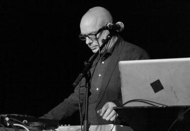 Brian Eno performing live at Punkt 2012