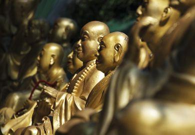 Gold buddhas