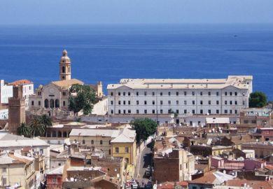Buildings in Oran, Algeria