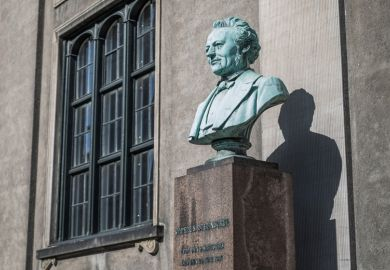 Bust of Japetus Steenstrup, University of Copenhagen, Denmark