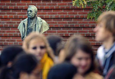 Alfred Nobel bust