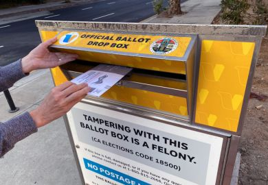 California ballot box