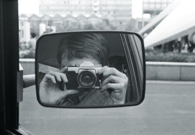 Camera in car mirror