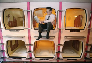 Capsule beds