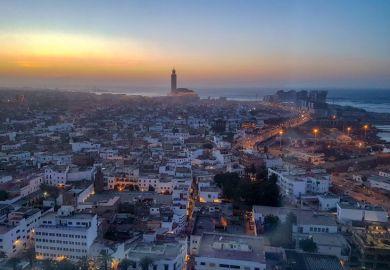 Casablanca skyline