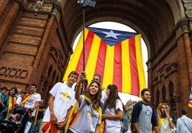 Catalan selfie
