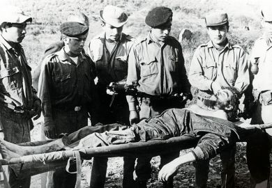 Che Guevara lying in state