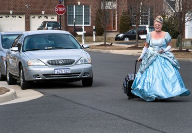 Cinderella with a suitcase