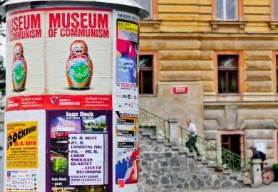 Communism museum poster Prague