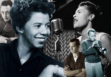Albert Camus, Jack Kerouac, Miles Davis, Billie Holiday and Lorraine Hansberry