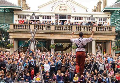 Covent Garden performer