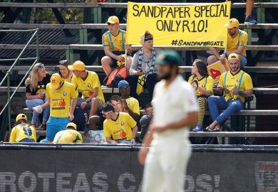cricket sandpaper