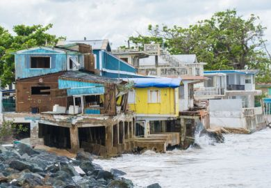 Damage from Hurricane Maria