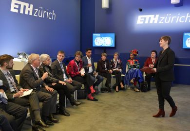 ETH Zurich/ THE event at Davos