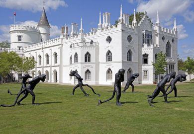 Days of Judgement, Laura Ford at Strawberry Hill