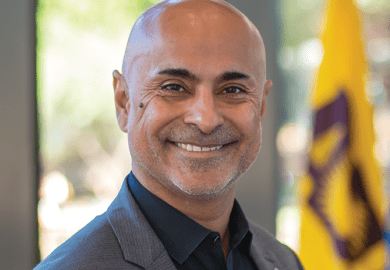 Sanjeev Khagram, dean of the Thunderbird School of Global Management at Arizona State University