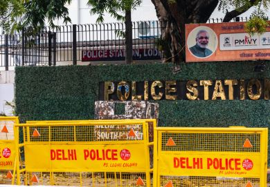A Delhi police station