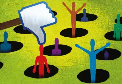illustration: dislike button