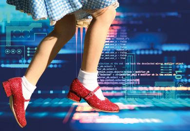 Dorothy in computer Oz