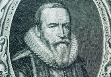 Illustration of Johan van Oldenbarnevelt