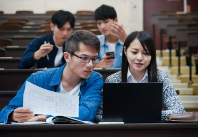 East Asian students