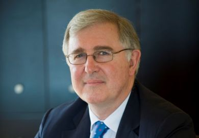 President and principal of King's College London, Ed Byrne