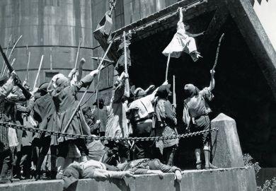 Enemy at the drawbridge