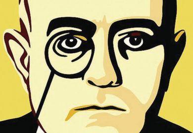 Theodor Adorno, cover image from Nein. A Manifesto by Eric Jarosinski